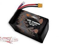 MaxAmps Graphene LiPo 4350 2S 7.4v Shorty LiPo
