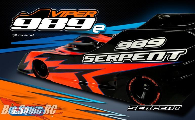 Serpent Viper 989e Electric On-Road Kit