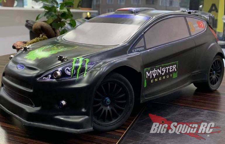 TMT Unbreakable Rally Car Body