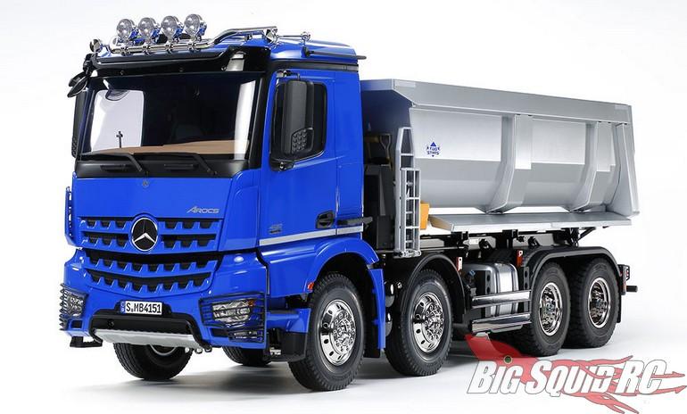 Tamiya Mercedes-Benz Arocs 4151 8x4 Tipper Truck