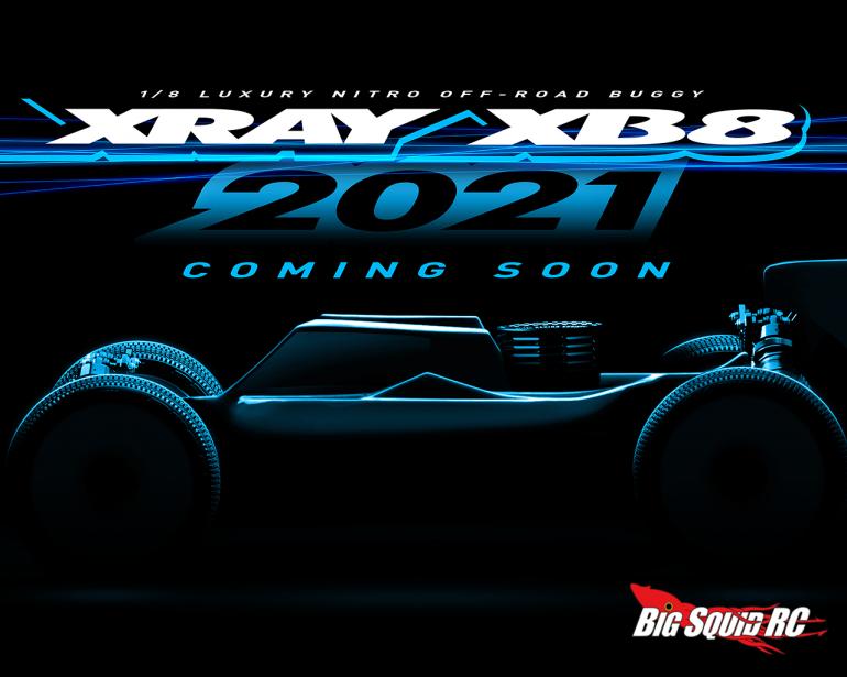 XRAY XB8'21 Teaser
