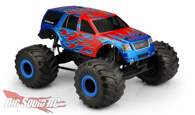 JConcepts 2005 Ford Expedition Body Monster Truck