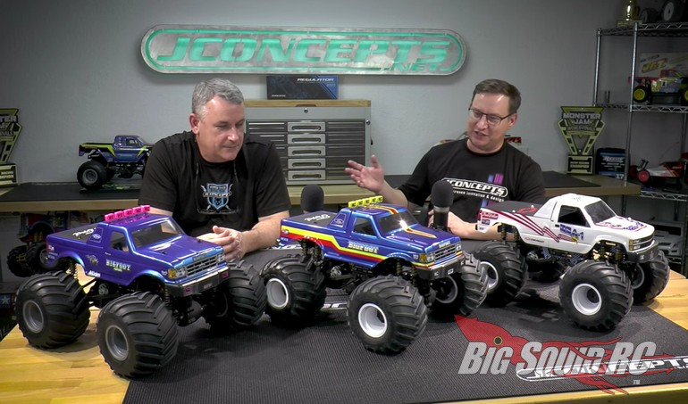 JConcepts Childress Monster Truck Racing Series Video