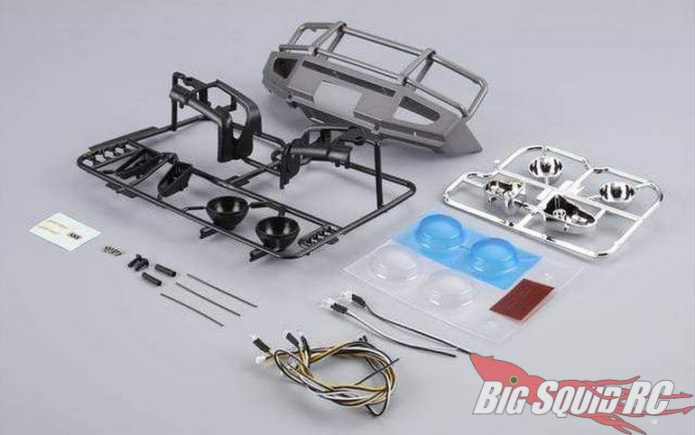 Killerbody RC Alloy Bumper LEDS TRX-4
