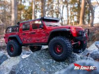 ScalerFab Rock Sliders for the Axial SCX10 III Jeep Gladiator