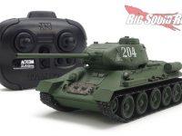Tamiya Russian MT 34 85 Tank