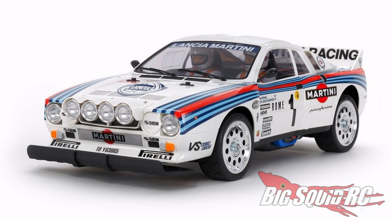 Tamiya RC Re-Release Lancia 037 Rally TA02S