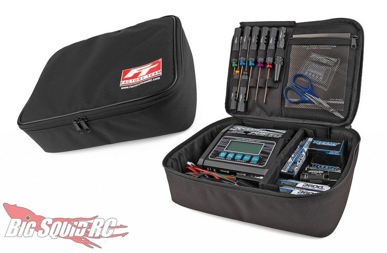 Team Associated Factory Team Charger Radio Utility Bags