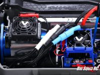 Traxxas Hoss 4x4 VXL Motor Cooling System - Installed