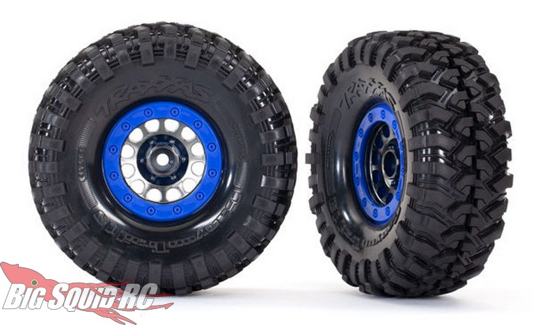 """Traxxas Pre-Mounted Method 105 1.9"""" Wheels with Canyon Trail 4.6x1.9"""" Tires"""
