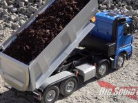 Tamiya RC Mercedes Tipper Truck Video