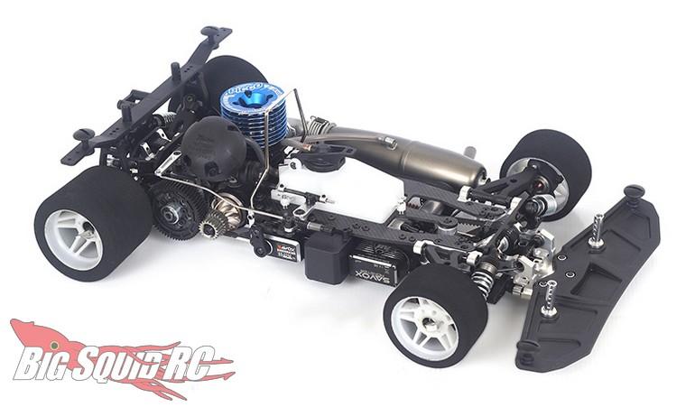 ARC R8.3 8th Scale Nitro On-Road Kit