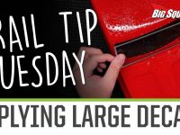 Element RC Trail Tip Tuesday - Applying Large Decals