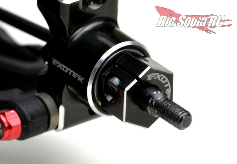 Exotek Aluminum Upgrades TLR 22S 22 5.0 Wheel Hex