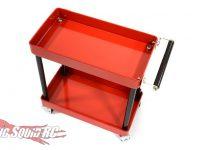 Integy 2-Tier Rolling Metal Tool Box Organizer
