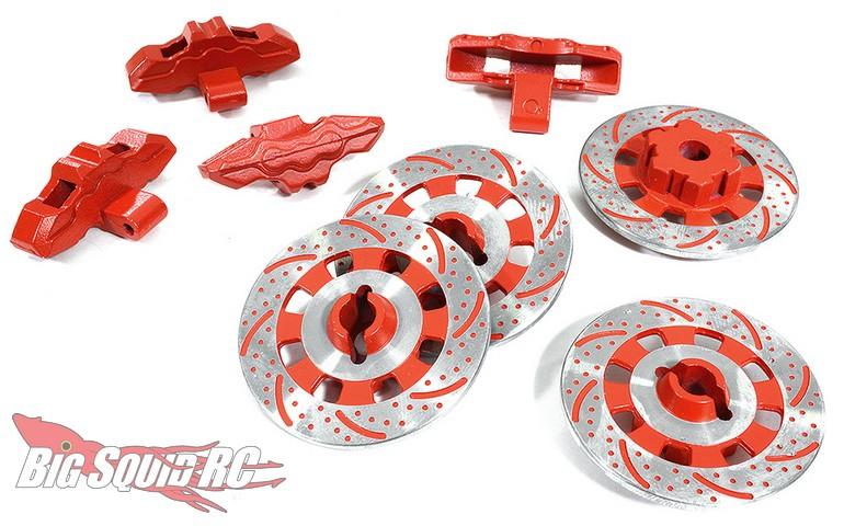 Integy Scale Realistic Alloy Brake Disc Set Traxxas UDR