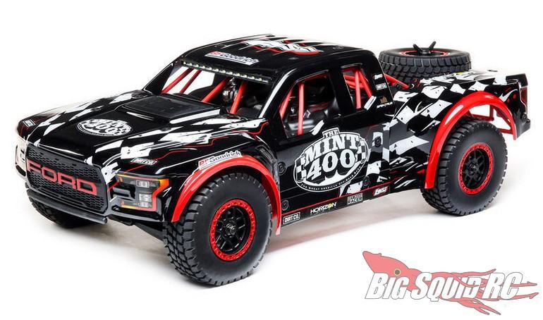 Losi Ford Raptor Baja Rey, Mint 400 Limited Edition