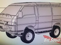 MST Max Speed Technology Mitsubishi Delica Van