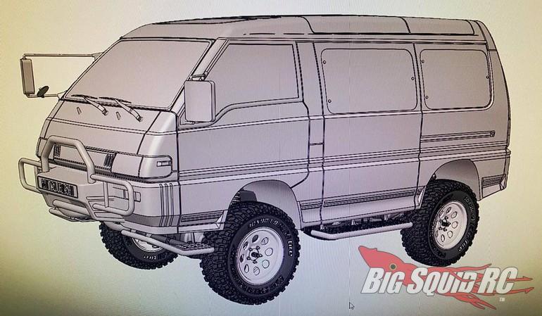 MST Max Speed Technology Mitsubishi Delica Van