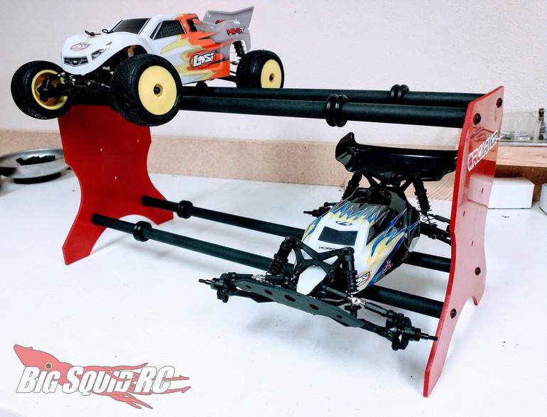 T-Bone Racing Mini Car Garage Stand