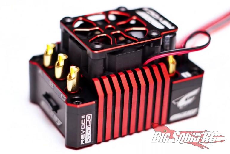 Team Corally Revoc II TR160 Brushless ESC