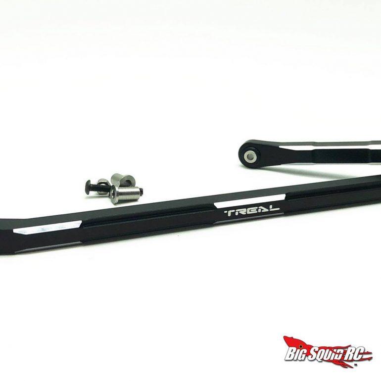 Treal Losi LMT Aluminum Steering Links - Black