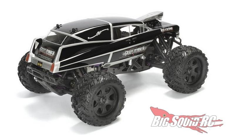 HPI Racing Grave Robber Monster Truck Body RC