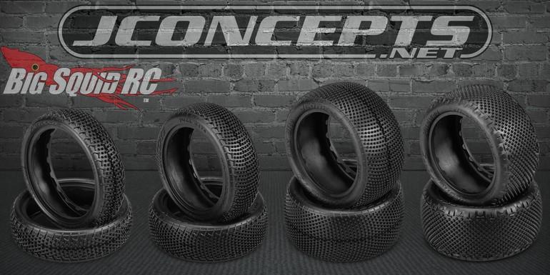 JConcepts RC Fuzz Bite Pin Swag Carpet Tires