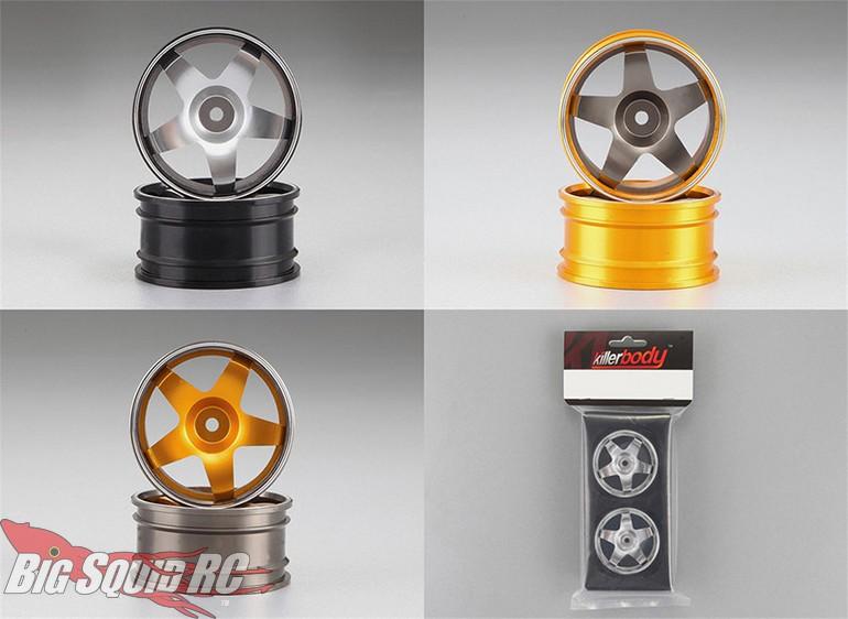Killerbody RC Aluminum Wheels Touring Cars
