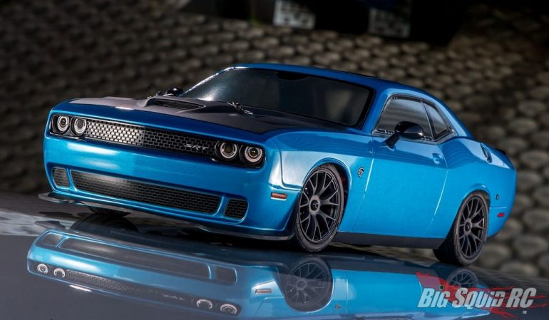 Kyosho Fazer MK2 Dodge Challenger SRT Hellcat Crazy B5 Blue