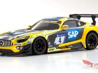 Kyosho Mercedes-AMG GT3 No.4 24H Nurburgring 2018 Mini-Z