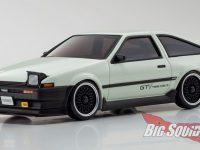 Kyosho Toyota Sprinter Trueno AE86 GTV Mini-Z AWD