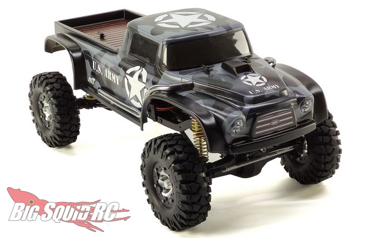 Mon-Tech Racing PickUP R Scale Crawler Body