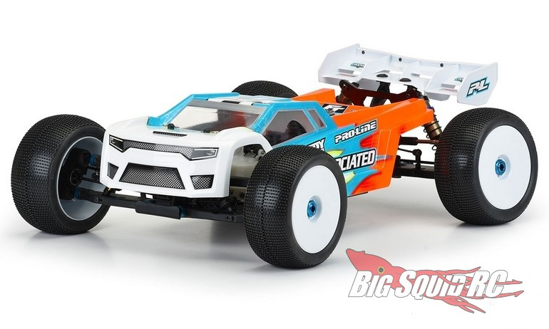 Pro-Line Axis T Clear Body RC8T3.2 RC8T3.2e
