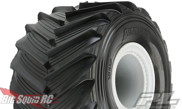 Pro-Line RC Demolisher Pre-Mounted Monster Truck Tires