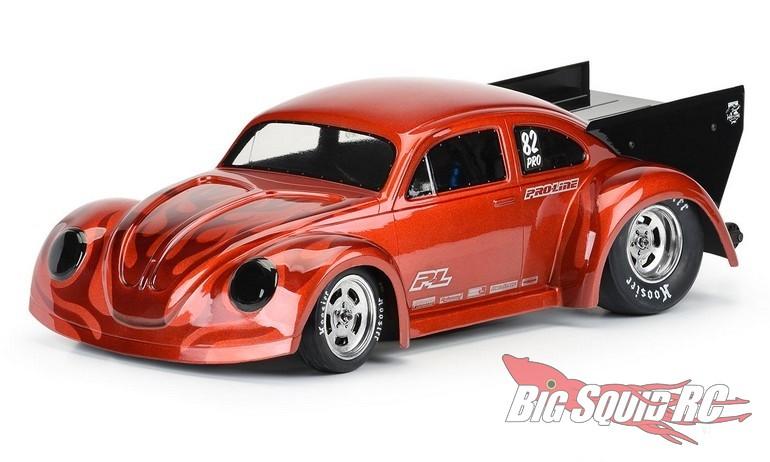 Pro-Line Volkswagen Drag Bug Clear Body No Prep