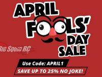 Tower Hobbies April Fools Day Sale