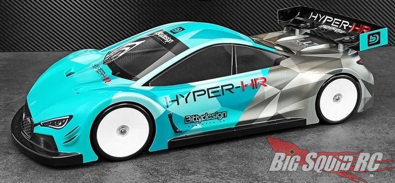 Bittydesign HYPER-HR Touring Car Body