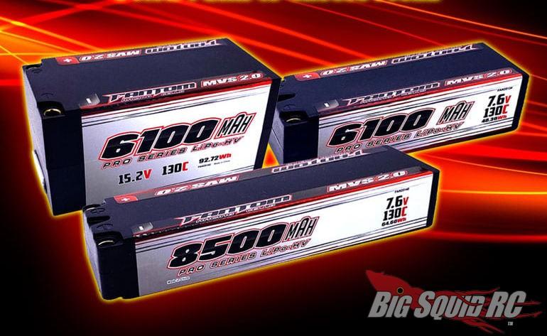 Fantom LiPo Batteries