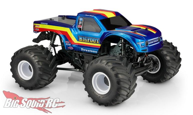 JConcepts 2020 Ford Raptor BIGFOOT 19 Racer Stripe Body