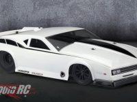 JConcepts Pontiac Firebird RC No Prep Drag Racing Body