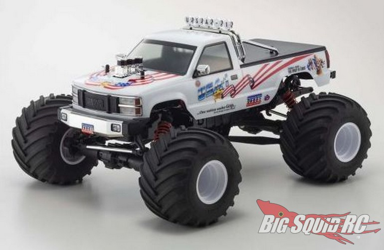 Kyosho 8th Scale VE Monster Truck USA-1 Brushless Readyset