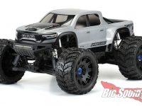Pro-Line Pre-Cut 2021 Ram 1500 TRX Clear Body Traxxas X-MAXX