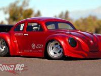 Pro-Line Volkswagen Drag Bug Body & Slot Mag Drag Wheels Video