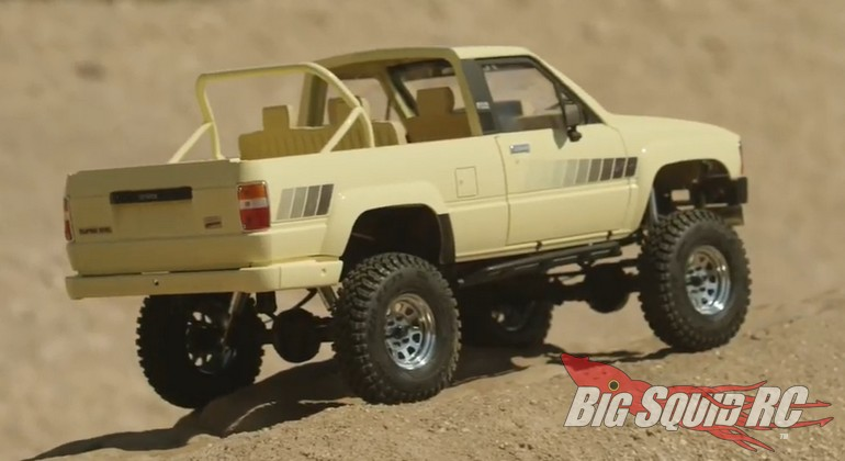RC4WD TF 2 RTR w/1985 Toyota 4Runner Body Video