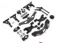Yeah Racing Aluminum Suspension Upgrade Kit for the 3Racing Sakura D5