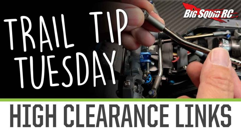 Element RC Trail Tip Tuesday - High-clearance Link Installation