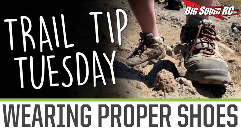 Element RC Trail Tip Tuesday - Wearing the Proper Shoes