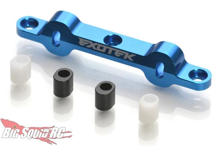 Exotek Racing Heavy Duty Aluminum Rear Arm Mount Associated DR10