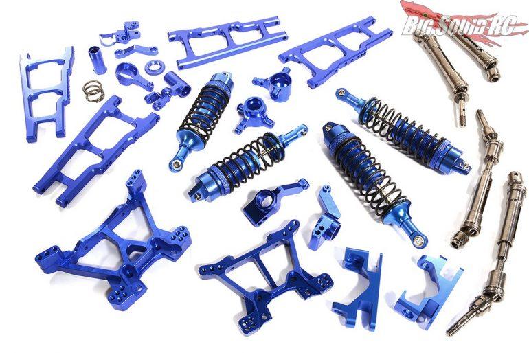 Integy Traxxas Alloy Conversion Hop-Up Kit Traxxas Slash 4X4